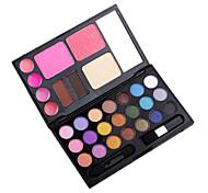 21 sombras de ojos colores de maquillaje desnuda belleza de larga duración comestic