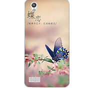 For OPPO Case Pattern Case Back Cover Case Butterfly Soft TPU OPPO