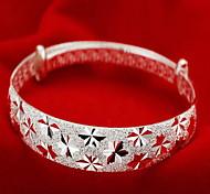 Женский Браслет цельное кольцо Мода бижутерия Стерлинговое серебро Бижутерия Бижутерия Назначение Новогодние подарки