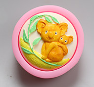 Koala Shape Chocolate Silicone Molds,Cake Molds,Soap Molds,Decoration Tools Bakeware