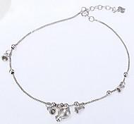 Silver Fish Bracelet Anklet Jewelry