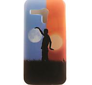 de volta IMD Other TPU Macio Case Capa Para Motorola Moto G