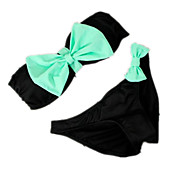 The New Split in Europe Sexy Sweet Bow Ladies Swimsuit