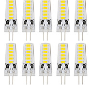 G4 LED Doppel-Pin Leuchten T 12 SMD 5733 180 lm Warmes Weiß Kühles Weiß Dekorativ DC 12 V 10 Stück