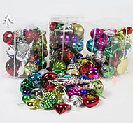 Christmas Tree Ornaments Christmas Package Barrels Package A Lot Of Balls Christmas Decoration Hanging 34 / Barrel