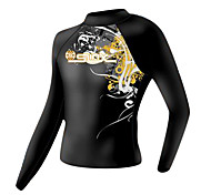 SLINX® Men's Wetsuits Wetsuit Top Ultraviolet Resistant Compression Tactel LYCRA® Diving Suit Long Sleeve Diving Suits-Diving Snorkeling