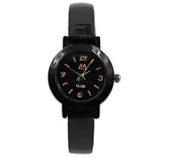 Geschäftsleute neutral hochwertigen Quarz-Legierung Lederband Uhr