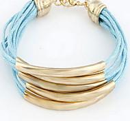 Fabric Wrap Multilayer Bracelet