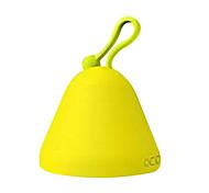 sensor de toque amarelo alarme multifunções luz relógio noite