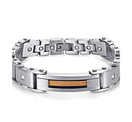 "2016 New Fashion Jewelry Magnetic 316L Stainless Steel Bracelets For Men & Women 8.5""  Free Shipping"