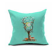 2016 New Arrival  Cotton Linen Pillow Cover Nature Modern Contemporary  Pillow Linen Cushion D10