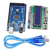 улучшенная версия доски развития mega2560 + 1602 ЖК-клавиатура щит для Arduino