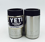 Hot Bilayer Stainless Steel Insulation Cup 12 OZ YETI Cups Cars Beer Mug Large Capacity Mug Tumblerful