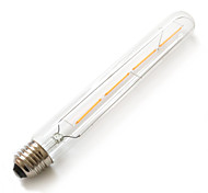 LED Filament Bulbs T30 Tubular LED Lights,220-240V 4W Equivalent to 40W Incandescent Chandelier Bulbs