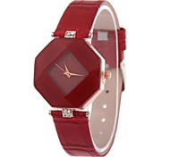 Woman Fashtion Leather Wrist Watch