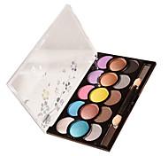 sombra de ojos colores al azar de larga duración belleza maquillaje comestic desnudos