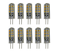 3W G4 2-pins LED-lampen T 24 SMD 3014 300 lm Warm wit / Koel wit Decoratief DC 12 V 10 stuks