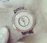 Women's Luxury Sparkle Stainless Steel Quartz Watch