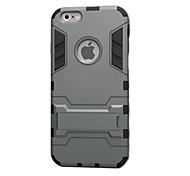 caso duro com kickstand para 6s iPhone 6 Plus