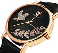 Women's Fashion Casual Wrist Watch Quartz Watch PU Belt Round Alloy Dial Watch(Assorted Colors) Cool Watch Unique Watch