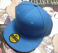 Solid Color Flat Plate Baseball Cap Hat Hip hop hat