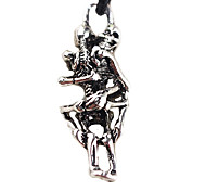 Embrace The Skeleton Alloy Necklace, Creative Man Necklace