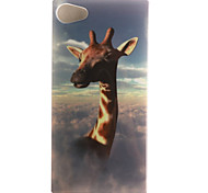 de volta IMD Animal TPU Macio Case Capa Para Sony Sony Xperia XP / Other