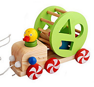Children Intellectual Toy Duckling Car