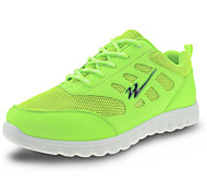 Green/Red/Blue Damping Plastic Running Shoes for Men