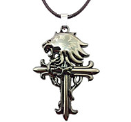 The Lion Head Cross Pendant Jewelry