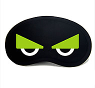 Travel Sleeping Eye Mask Type 0042 Green Owl Eyes