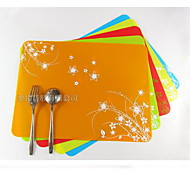 Creative Kitchen Gadget Placemats Silicone 40*30*0.08cm