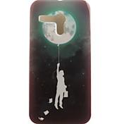 de volta IMD Balão TPU Macio Case Capa Para Motorola Moto G