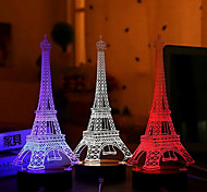 Creative 3D USB LED Nightlight Eiffel Tower