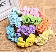 144 PE Foam Wreath Pentagon Plum DIY Accessories Candy Box Accessories Handmade Artificial Flowers
