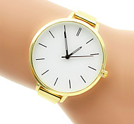 Women's Fashion Watch Bracelet Watch Quartz Casual Watch Stainless Steel Band Silver Gold Brand