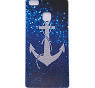 Anchor Pattern Frosted TPU Material Phone Case for Huawei Ascend P9 Lite/P9/P8 Lite/P8