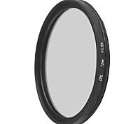 lentes de filtro polarizador circular EMOBLITZ 72mm CPL