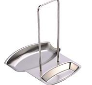 oak®pot couvercle et repose-cuillère pot support de couverture pour la cuisine, de petite taille en acier inoxydable