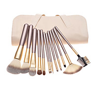 12 Makeup Brush Beauty Tools White Makeup Brush Set