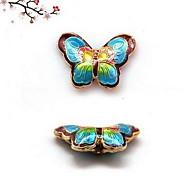 Women's Copper Butterfly Charm for Bracelet