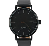 July New Simple Classic Noble Black Men's Quartz Watch