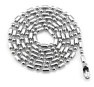 Men's Women's Chain Necklaces Titanium Steel Fashion Jewelry For Daily Casual