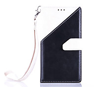 High-End Color Stitching Card Lanyard Phone Holster for Samsung Galaxy S7/S7 Edge