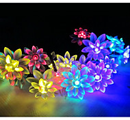 20LED Lotus Solar String Lights