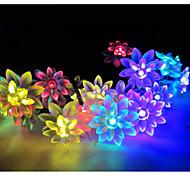 1 Lâmpada de LED a Energia Solar 100 lm Branco Quente / Branco Natural / RGB SMD Impermeável <5V V 1 Pças.