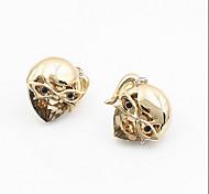 Masked Girl Cool Diamond Earrings Fine Jewelry