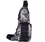 3 L Sling & Messenger Bag Camping & Hiking Outdoor Waterproof Army Green Nylon