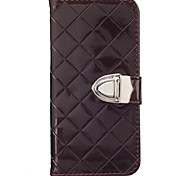 Luxury Metal Buckle Holster For Galaxy Note 5 Case Flip