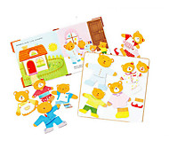 Little Bear Clothes Puzzle